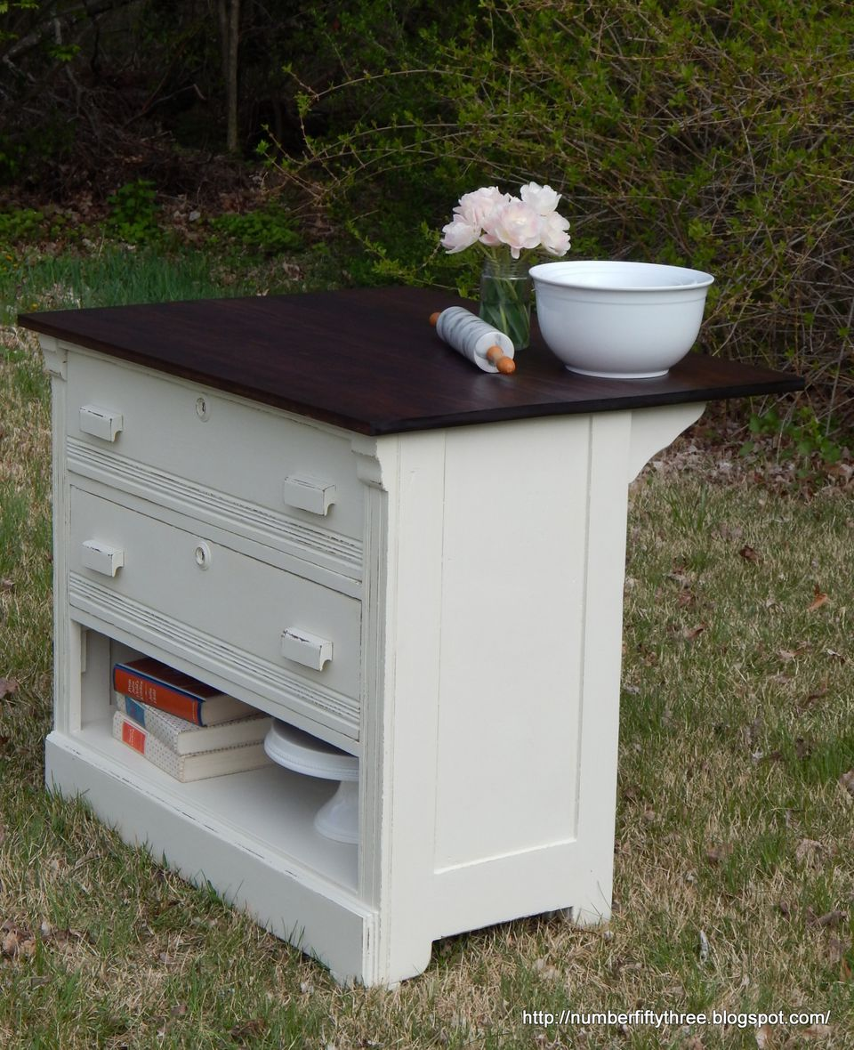 Repurposed Antique Dresser As A Kitchen Island With A: 25 Ways To Upcycle Your Dresser
