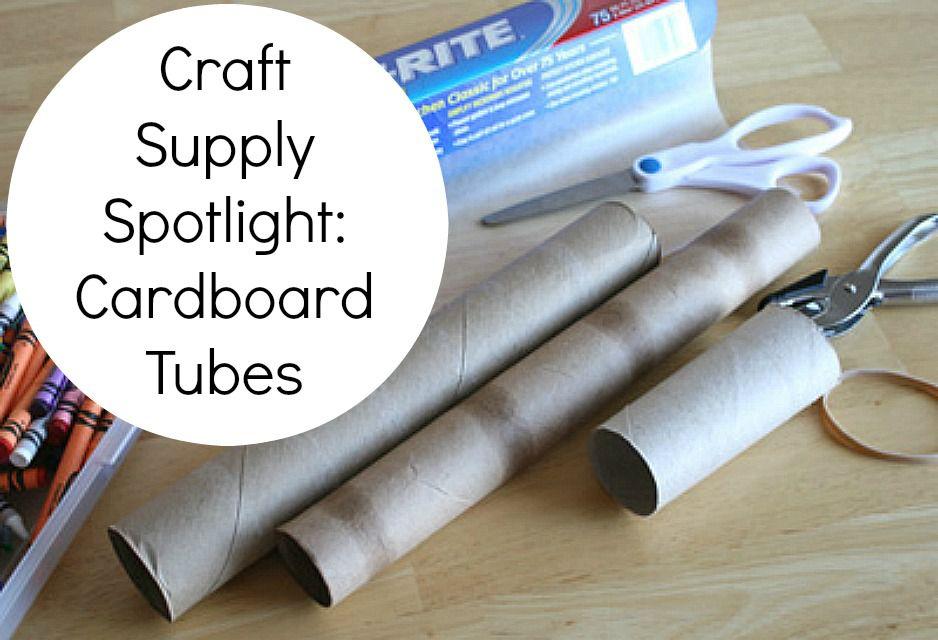 Craft Supply Spotlight: Cardboard Tubes