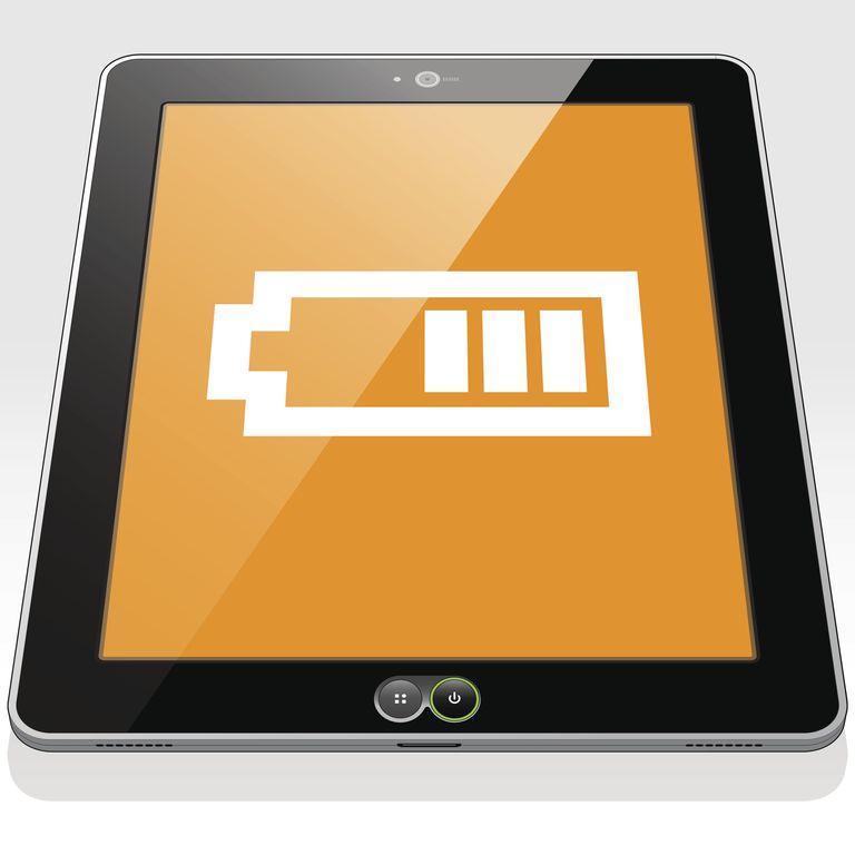 iPad battery low