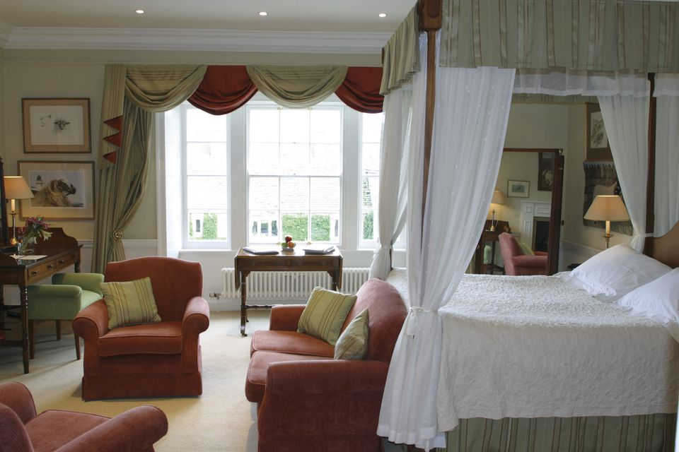 The Shepherds Room at the Devonshire Arms Country House Hotel