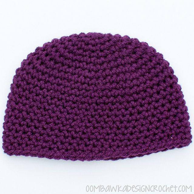 Single Crochet Hat Free Pattern