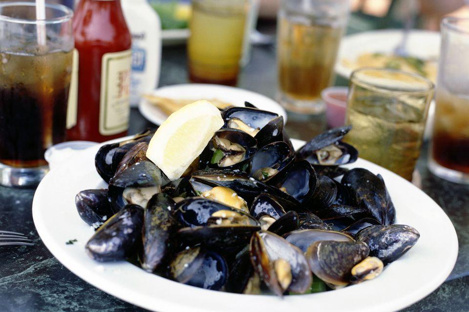 Long Island mussels