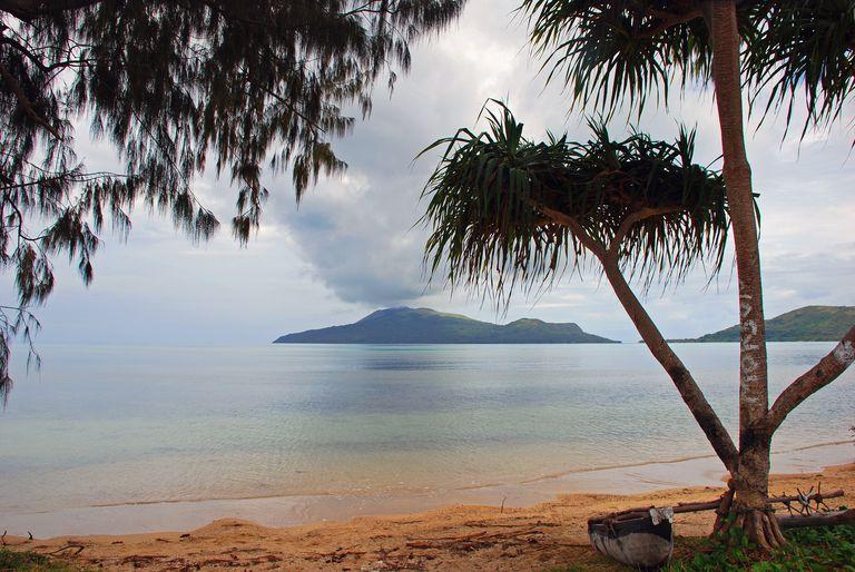 View of Nguna from Paonangisi Beach, Efate, Vanuatu