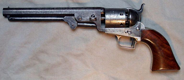 A Colt Navy Squareback