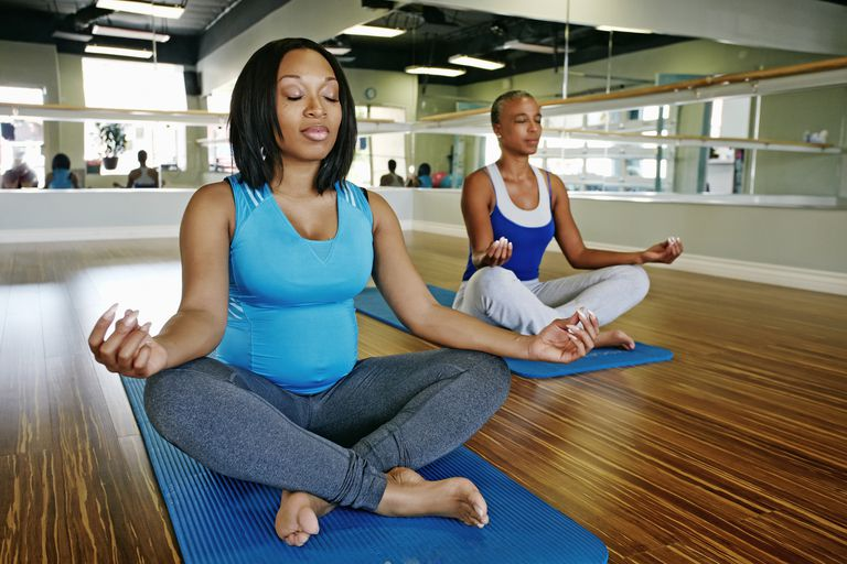 Pregnant women can benefit from meditation.