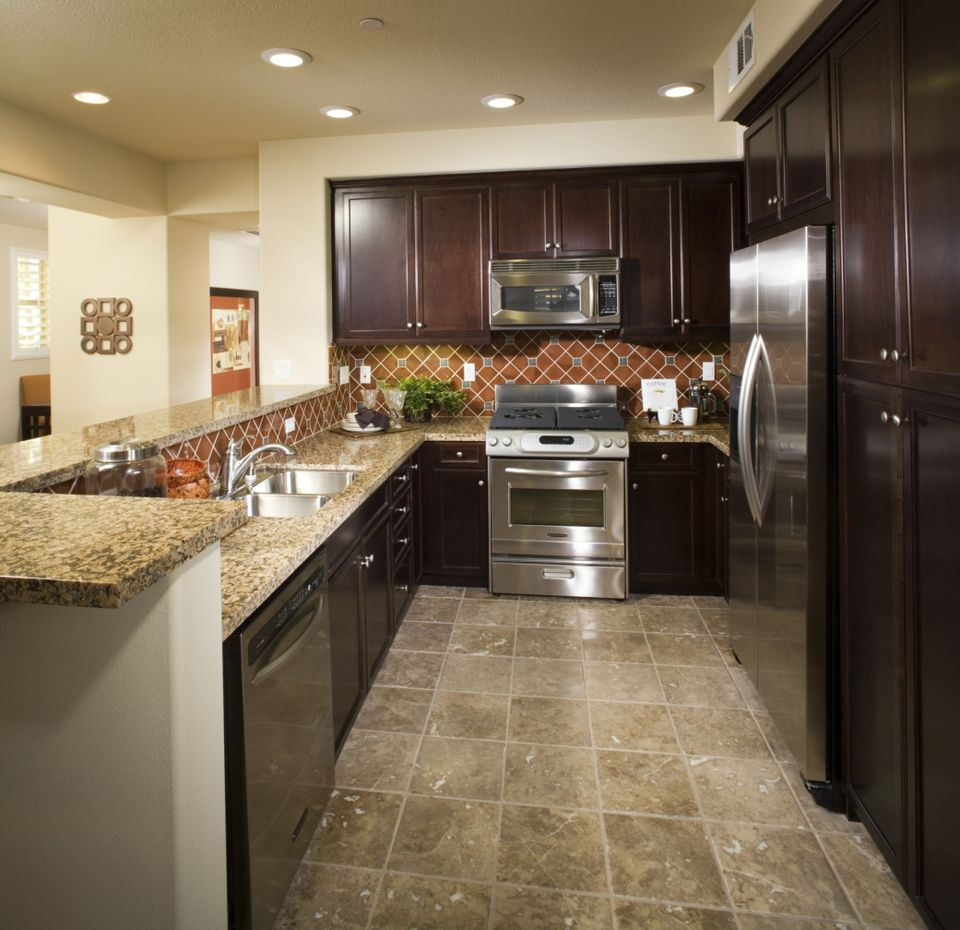 Tile Flooring For Kitchen: A Collection Of Linoleum Flooring Examples