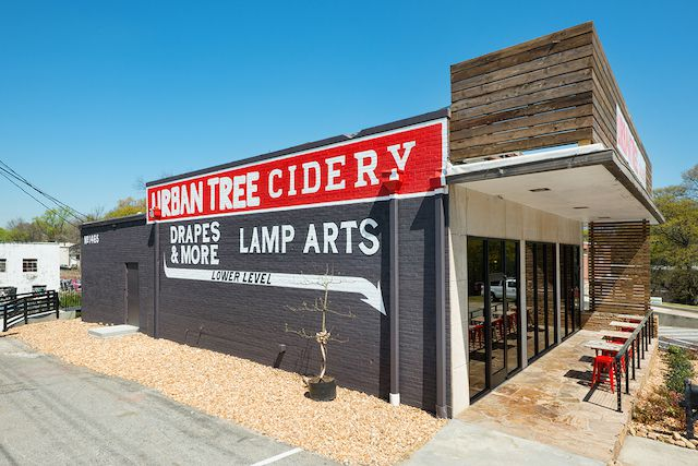 Atlanta's First Cidery: Urban Tree Cidery serves craft hard apple cider