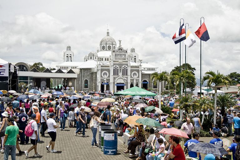 Cartago Costa Rica basilica church