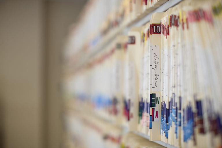 Patient records, detail
