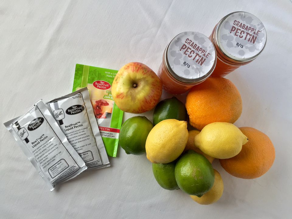 Different kinds of pectin