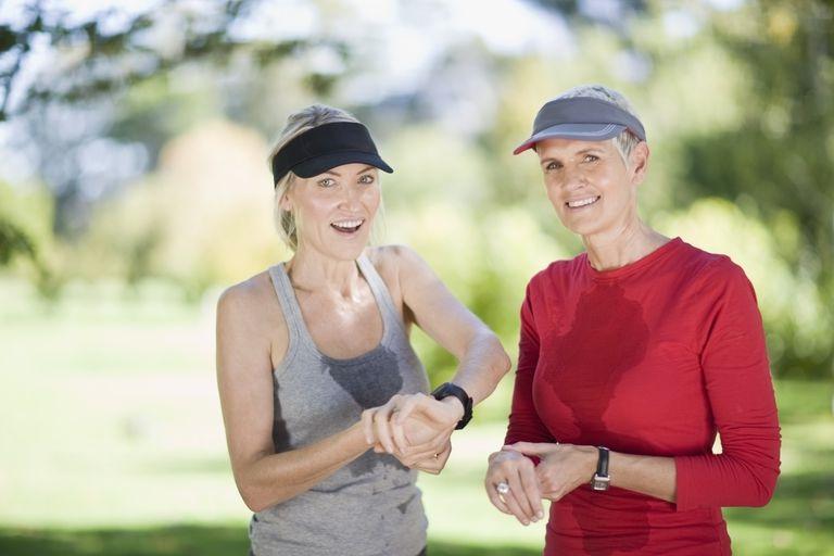 sweaty runners