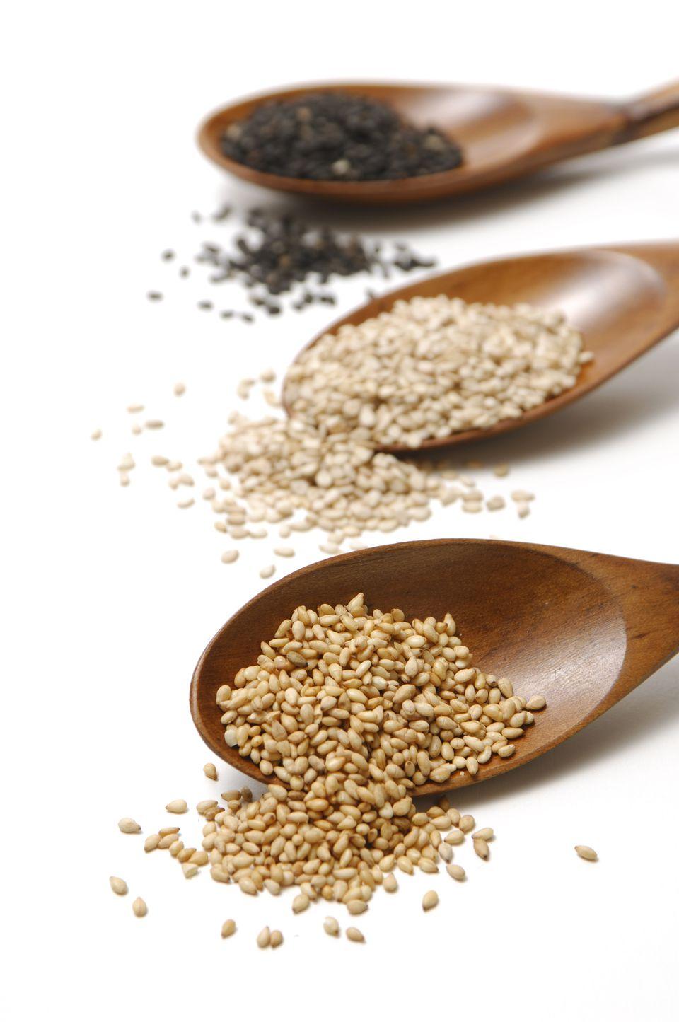 Three Sorts of Sesame Seeds