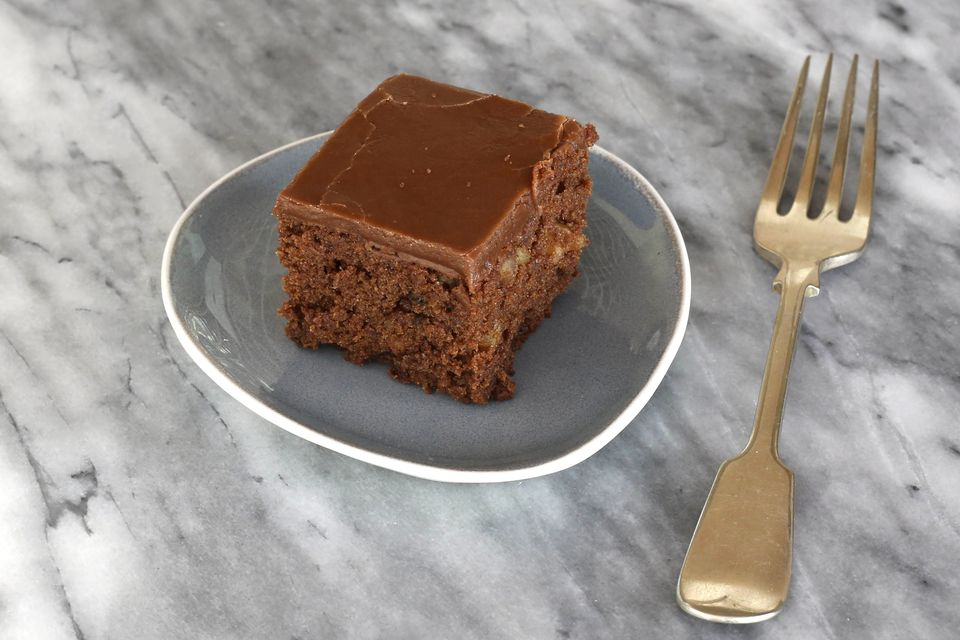 frosted cake-like brownies
