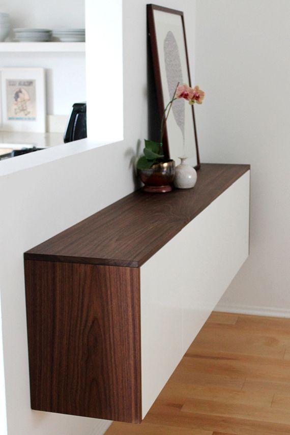 DIY Ikea Akurum Credenza