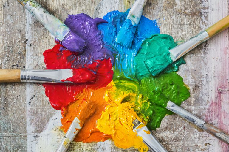 How To Mix Small Amount Of Paint Different Colors