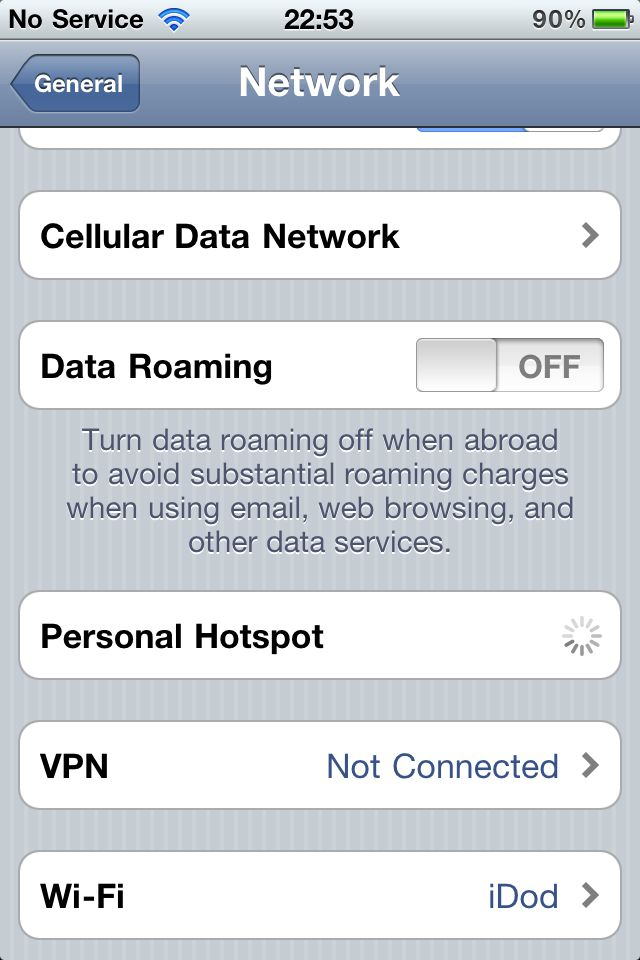 personal hotspot iphone 5 how to use your iphone as a wi fi hotspot 15838