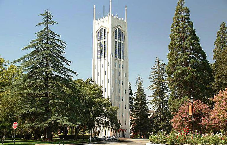 Burns Tower at the University of the Pacific