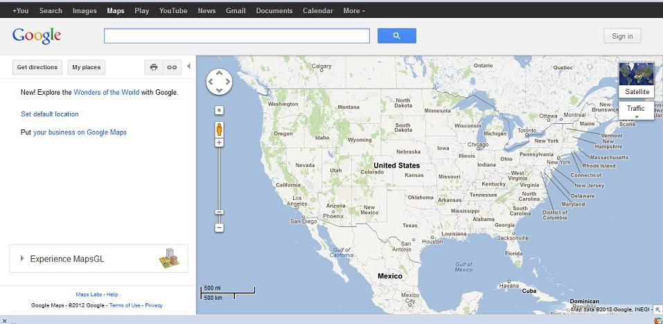 Make A Yard Sale Map Using Google Maps - Google maps florida