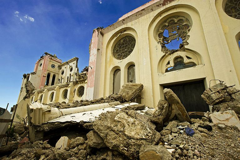 Ruins of Our Lady of Assumption Cathedral in Port-au-Prince