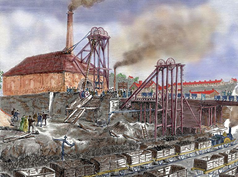 coal in the industrial revolution