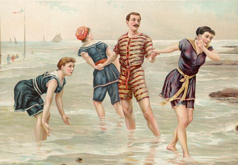 borrowed bathing suit