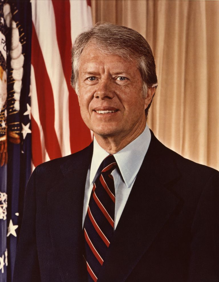 A Picture of President Jimmy Carter