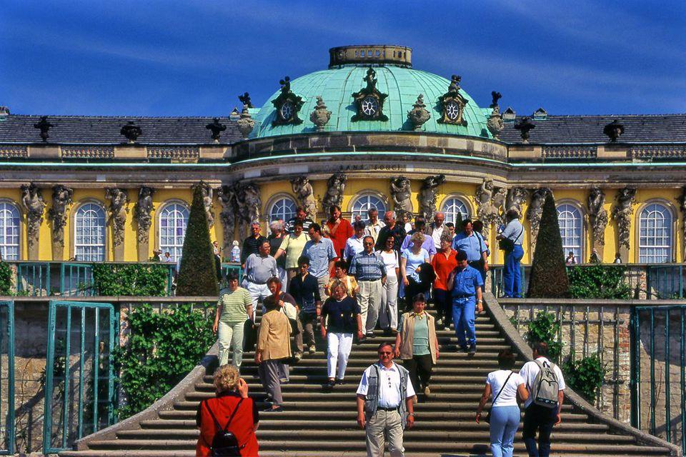 Potsdam Sanssouci summer palace near Berlin