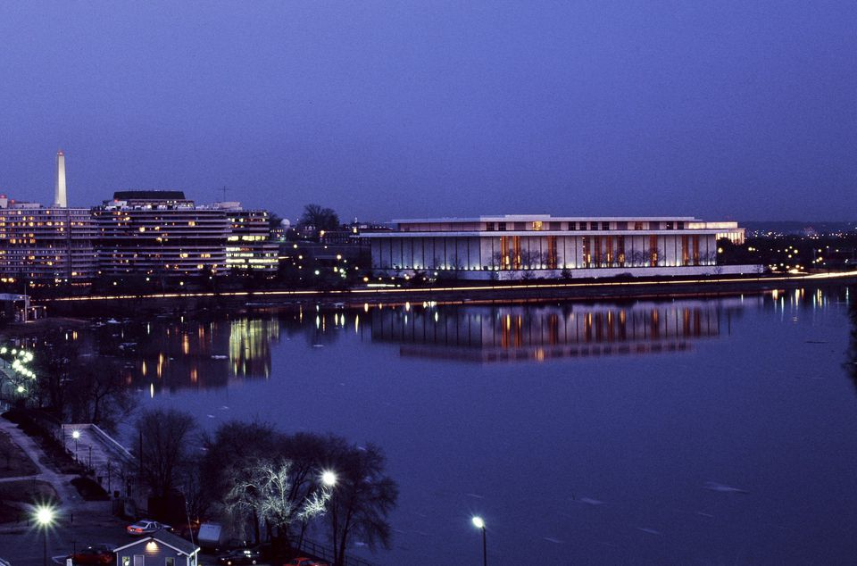 Potomac River with Washington Monument