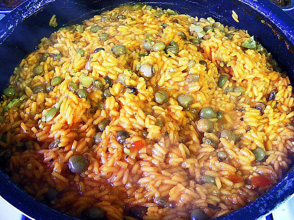 Rice and Pigeon Peas - Arroz con Gandules