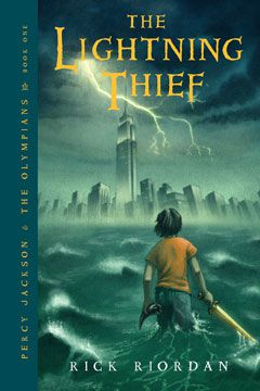 Cover art of The Lightning Thief