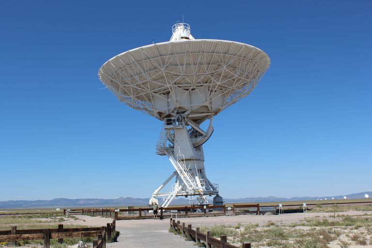 Headquarters for the Very Large Array are on the New Mexico Tech campus