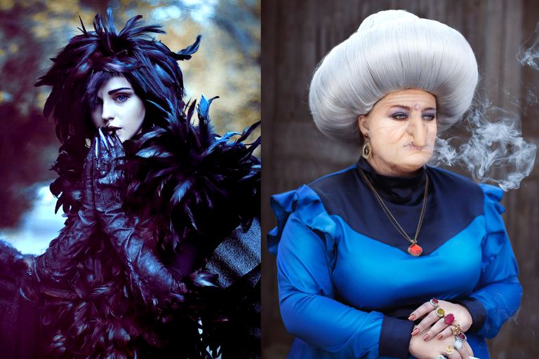 Studio Ghibli Howl's Moving Castle and Spirited Away Cosplayers
