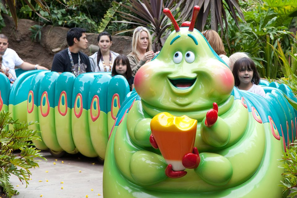 A Bug's Land at California Adventure