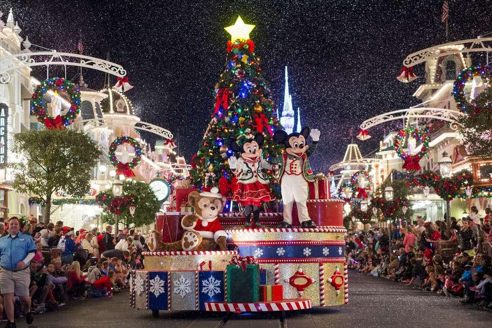 Mickey's Very Merry Christmas Parade at Disney's Magic Kingdom