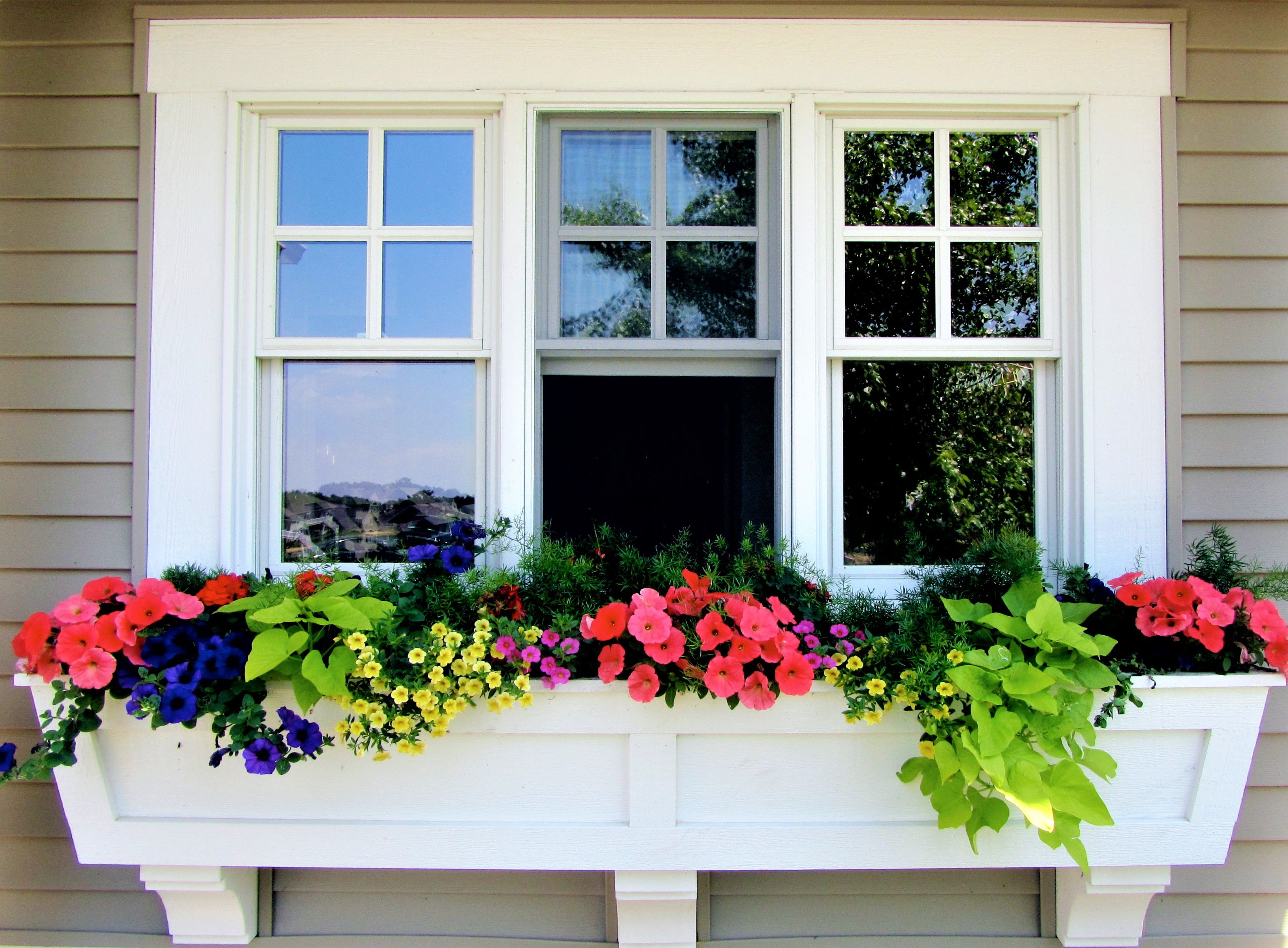 how to build a window box planter. Black Bedroom Furniture Sets. Home Design Ideas