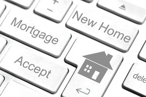 mortgage new home keyboard