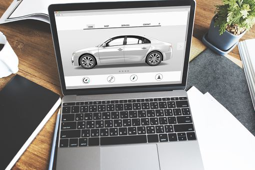 Buying a car online