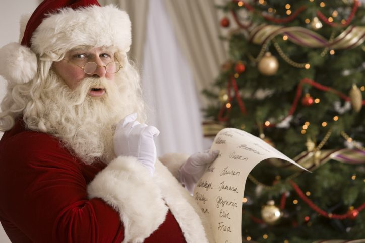 Pictures with Santa in Raleigh, Durham and Chapel Hill