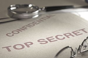 Top secret confidential file