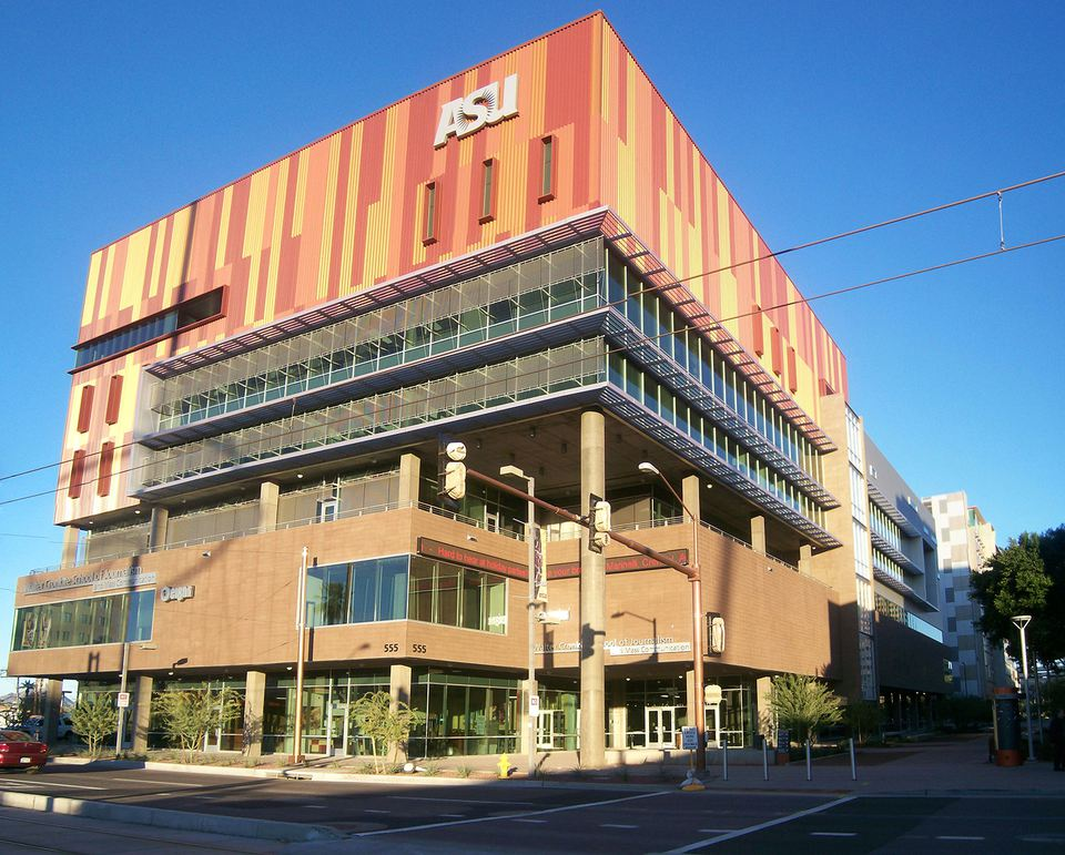 Part of the ASU Downtown Phoenix Campus