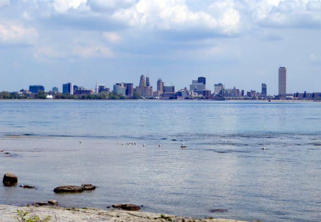 Western New York skyline