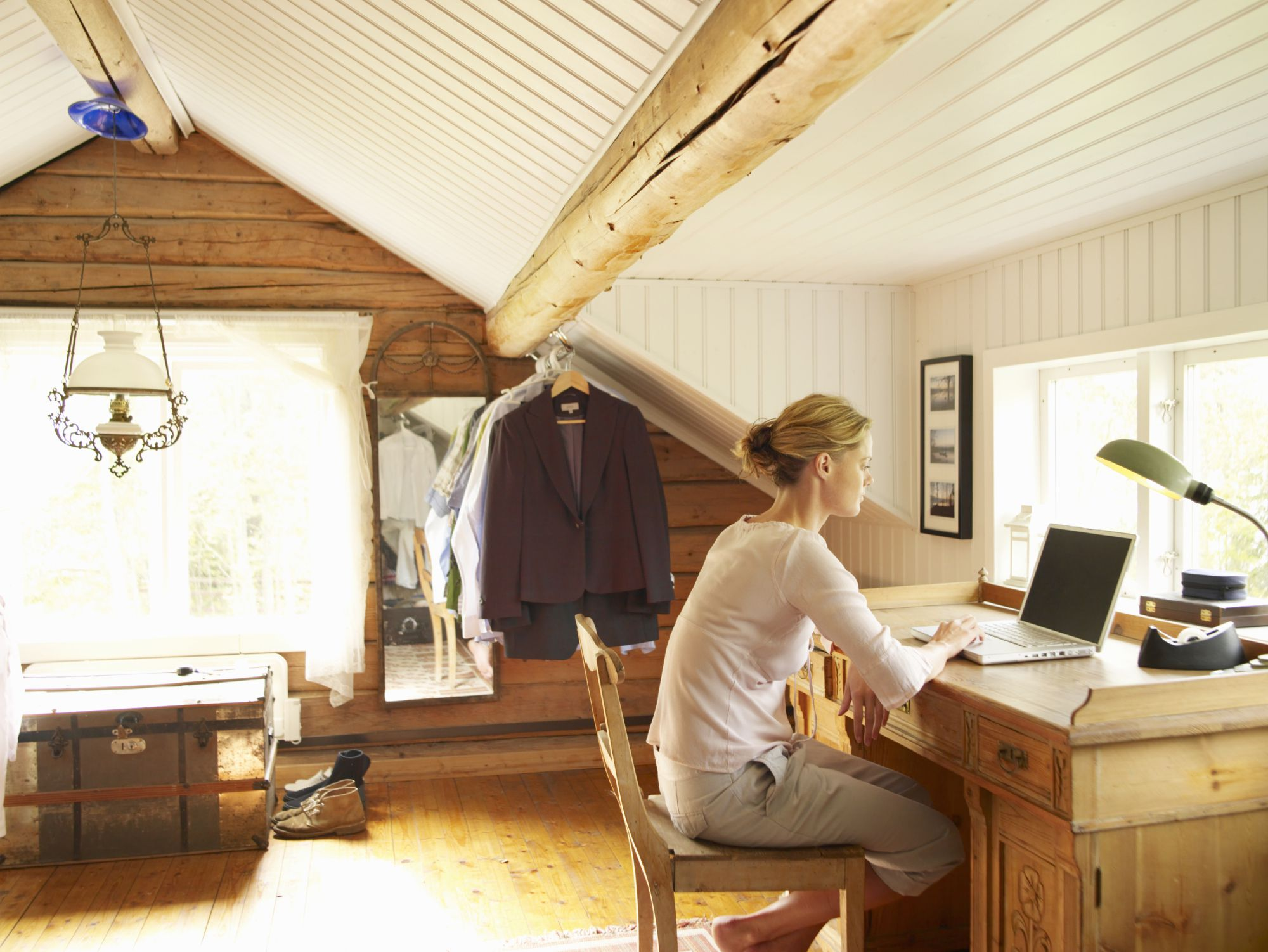 Simplified home office deduction option explained for The home office