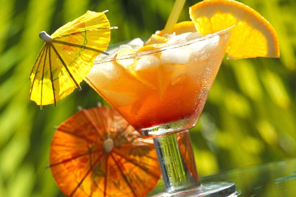 Classic Tiki Mai Tai Cocktail
