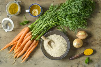 Nourishing Millet And Vegetable Soup