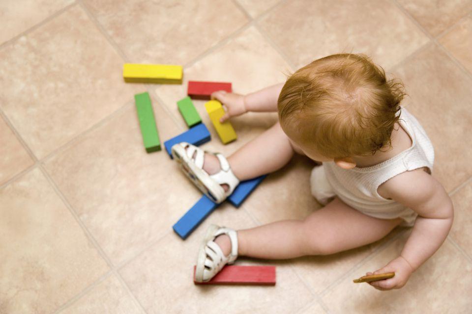 Linoleum Playroom Flooring