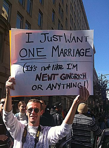 Funny Gay Marriage Signs And Memes - 23 hilarious signs from people who know how to protest properly