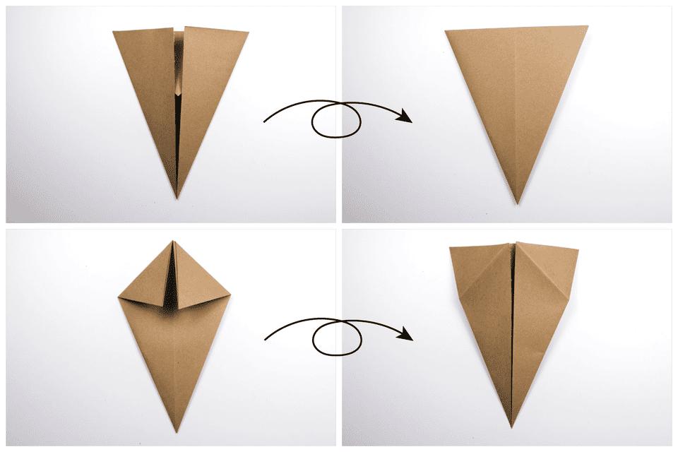 Origami Turkey Tutorial 2