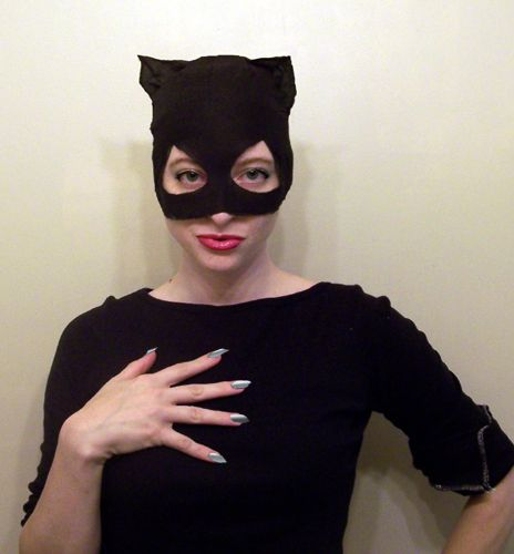 How to Make a Catwoman Mask
