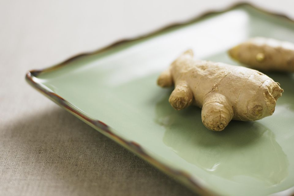 Organic ginger root
