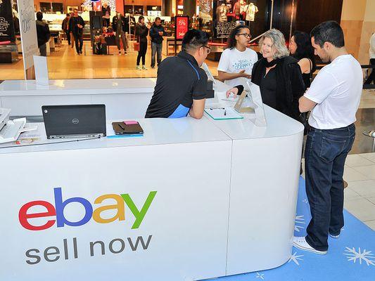 eBay stand